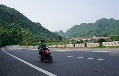 Riding Motobike