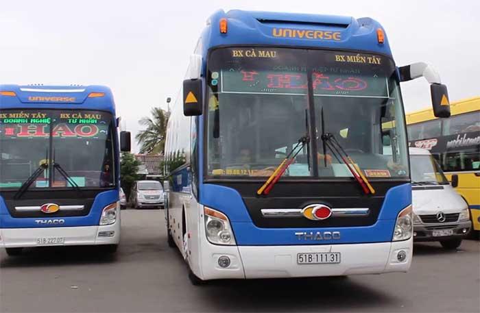 Vietnam local bus